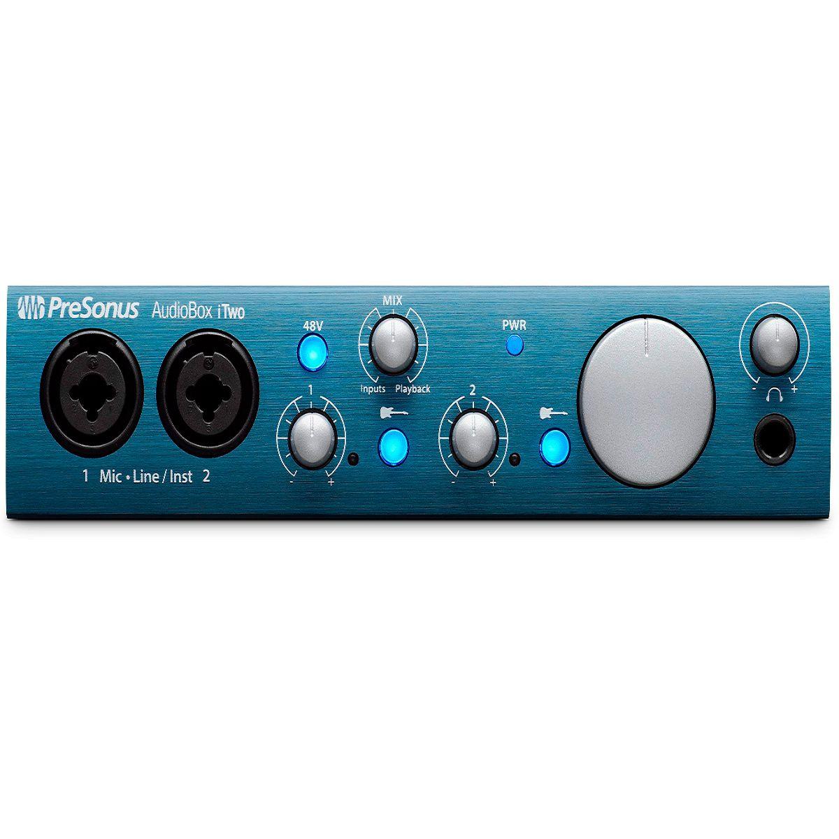 Interface de Áudio PreSonus Audiobox iTwo 2x2 USB