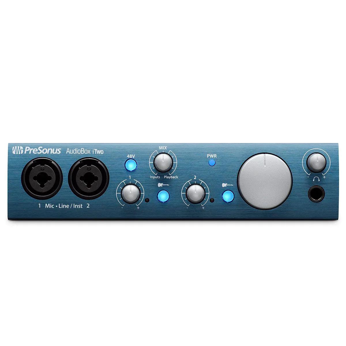 Interface de Áudio PreSonus Audiobox iTwo Studio Kit