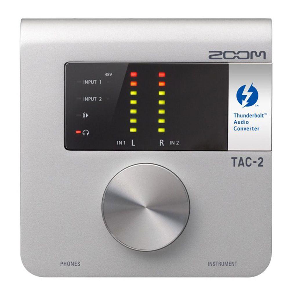 Interface de Áudio Zoom TAC-2 Thunderbolt