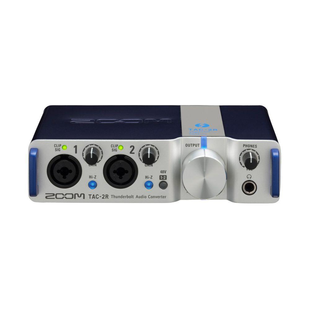 Interface de Áudio Zoom TAC-2R Thunderbolt