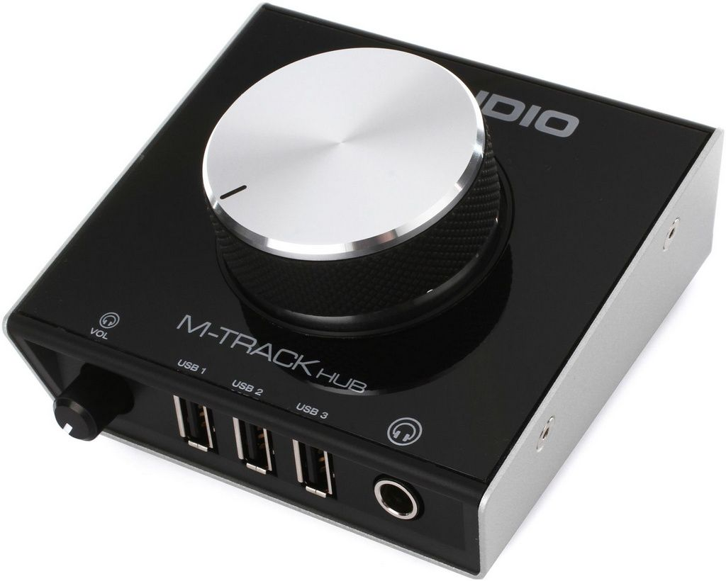 Interface de Monitoramento M-Audio M-Track Hub