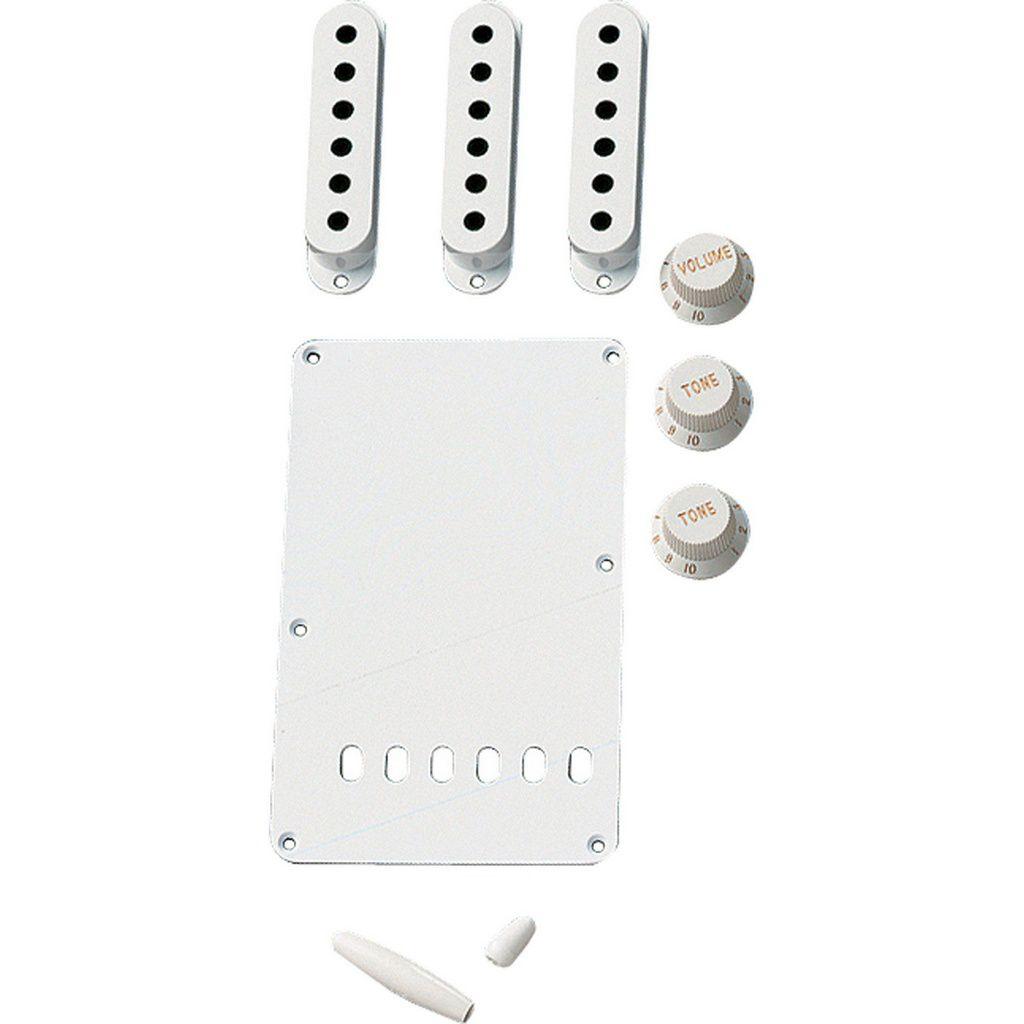 Kit de Acessórios Fender Vintage Style Branco para Strato
