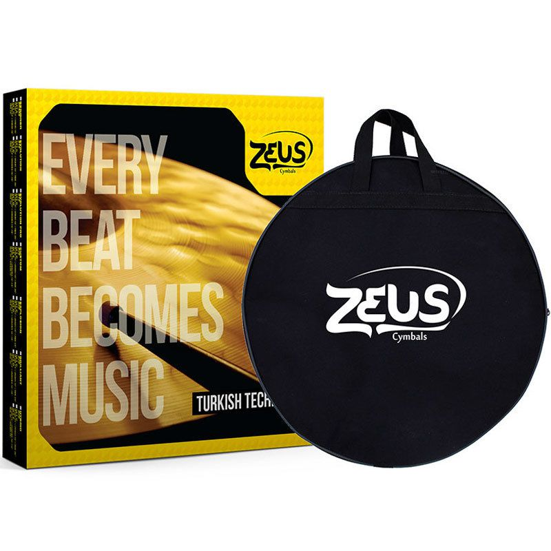 Kit de Pratos Zeus Cymbals SET D Evolution Pro 14