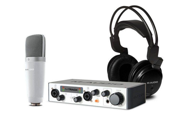 Kit Interface de Áudio M-Audio Vocal Studio Pro II
