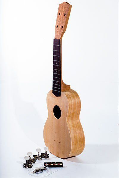 Kit para personalização Ukulele Ohana SK-Kit Soprano