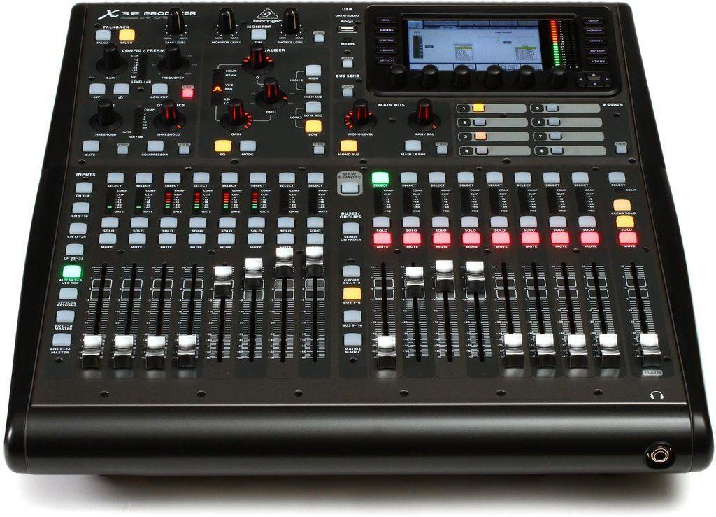 Mesa de Som Digital Behringer X32 Producer 32 Canais