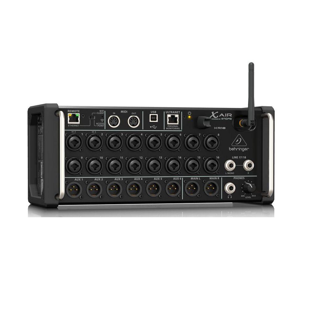 Mesa de Som Digital Behringer X Air XR18 18 Canais