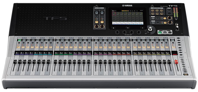 Mesa de Som Digital Yamaha TF5 32 Canais TF Series Bivolt