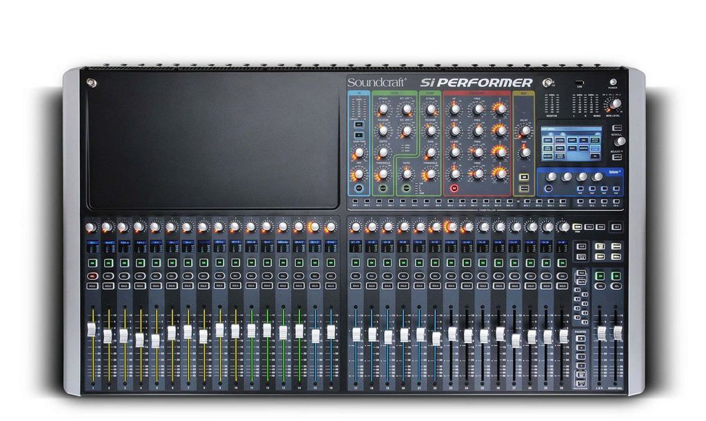 Mesa de Som Soundcraft Si Performer 3  32 Canais