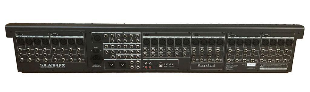 Mesa de Som Soundcraft SX3204FX USB / MP3 32 Canais Bivolt
