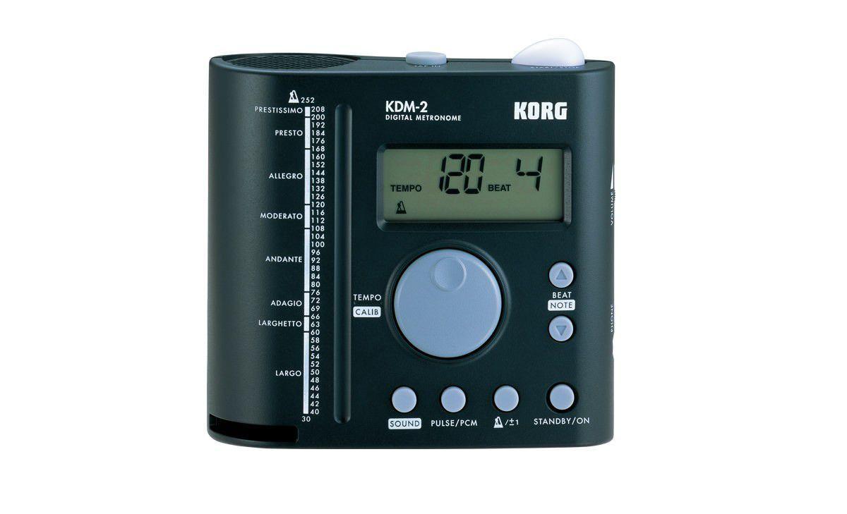Metrônomo Digital Korg KDM-2 com Amplificação