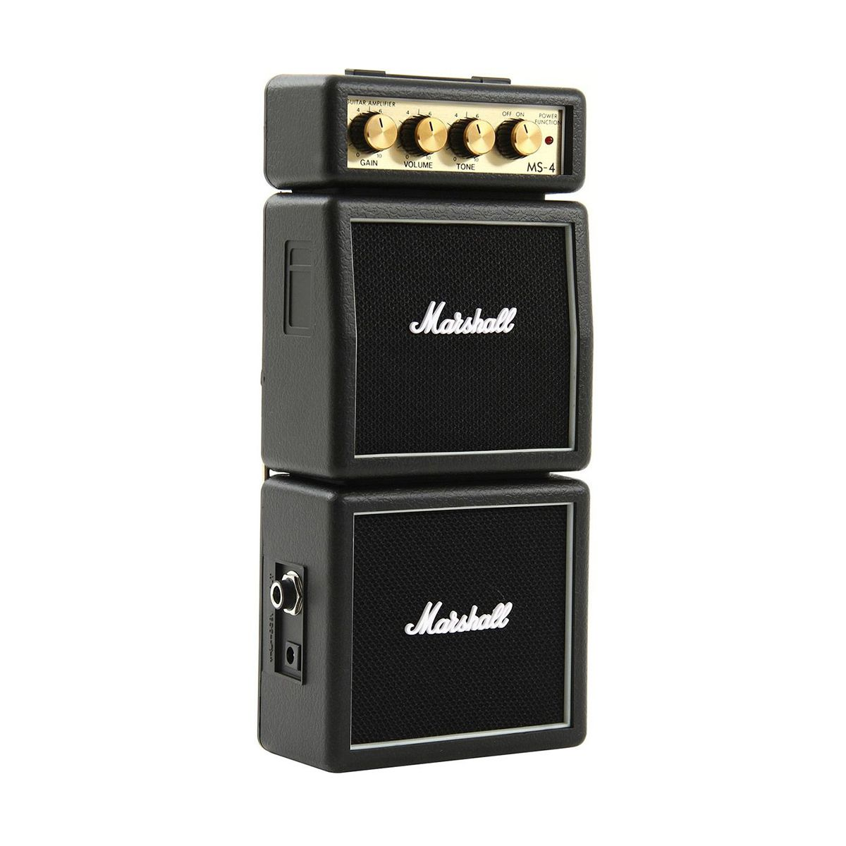 Micro Caixa Amplificada Marshall MS-4 2W Black para Guitarra