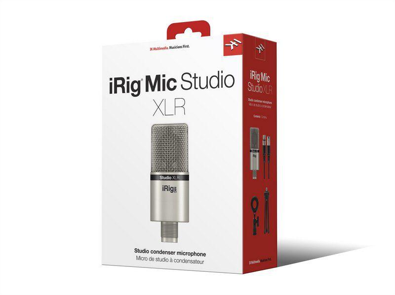 Microfone Condensador IK Multimedia iRig Mic Studio XLR