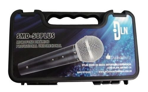 Microfone Dylan SMD-58 Plus Dinâmico