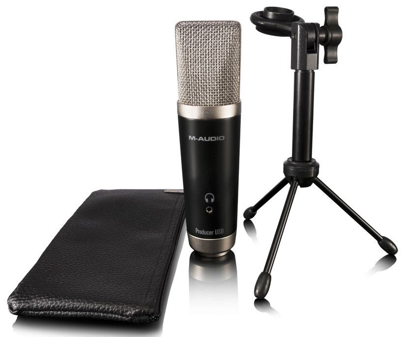 Microfone M-Audio Vocal Studio USB