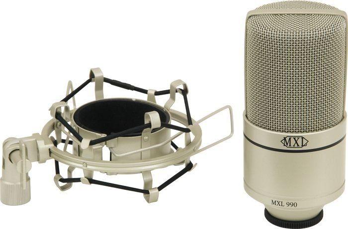 Microfone MXL 990 Studio Condensador