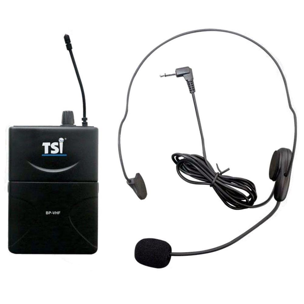 Microfone Sem Fio TSI MS-125 CLI VHF Headset