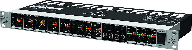 Mixer Behringer Ultrazone ZMX8210 8 Canais