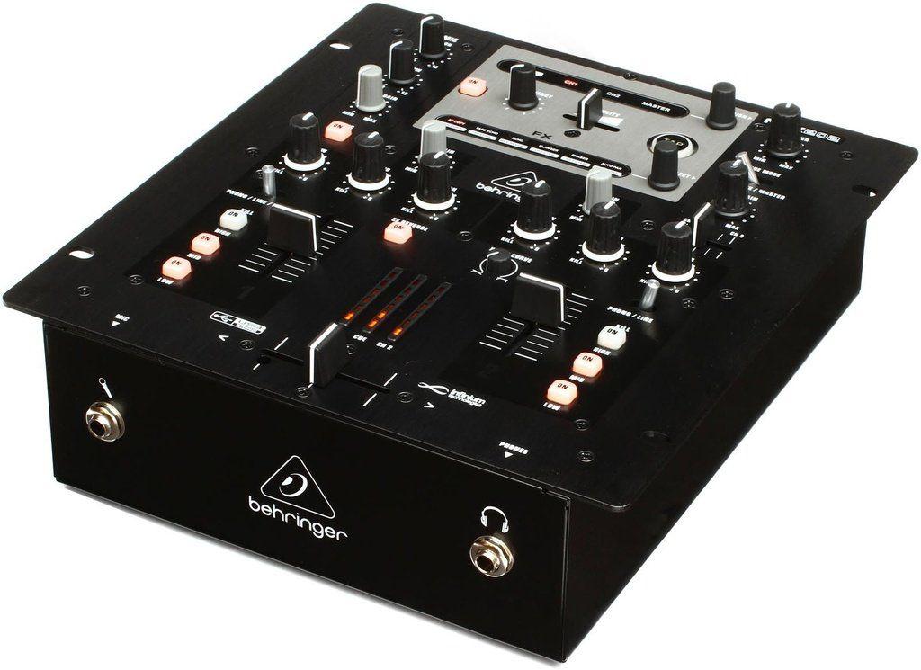 Mixer DJ Behringer Pro Mixer NOX202 2 Canais
