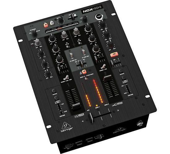 Mixer DJ Behringer Pro Mixer NOX404 2 Canais