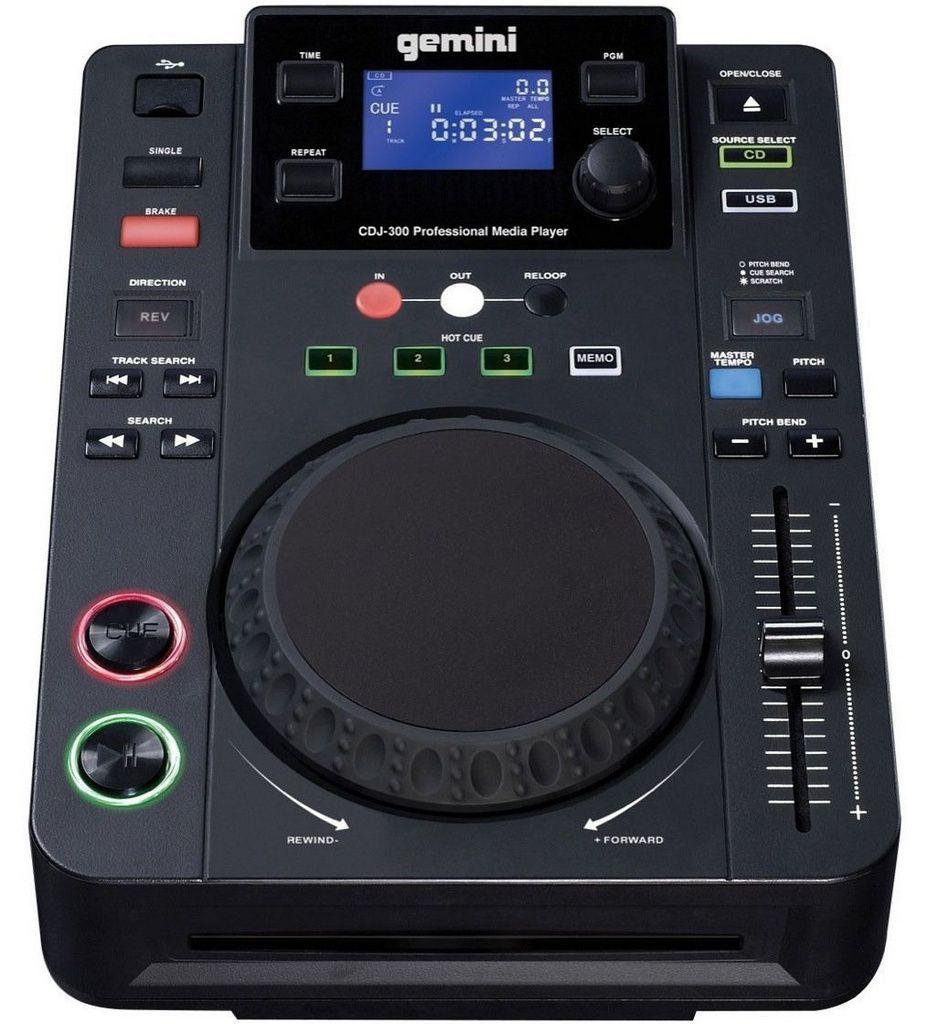 Mixer Gemini CDJ 300 USB