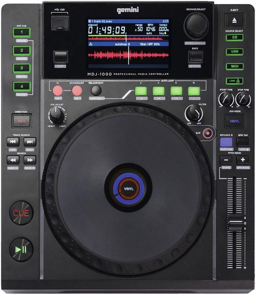 Mixer Gemini MDJ 1000 USB