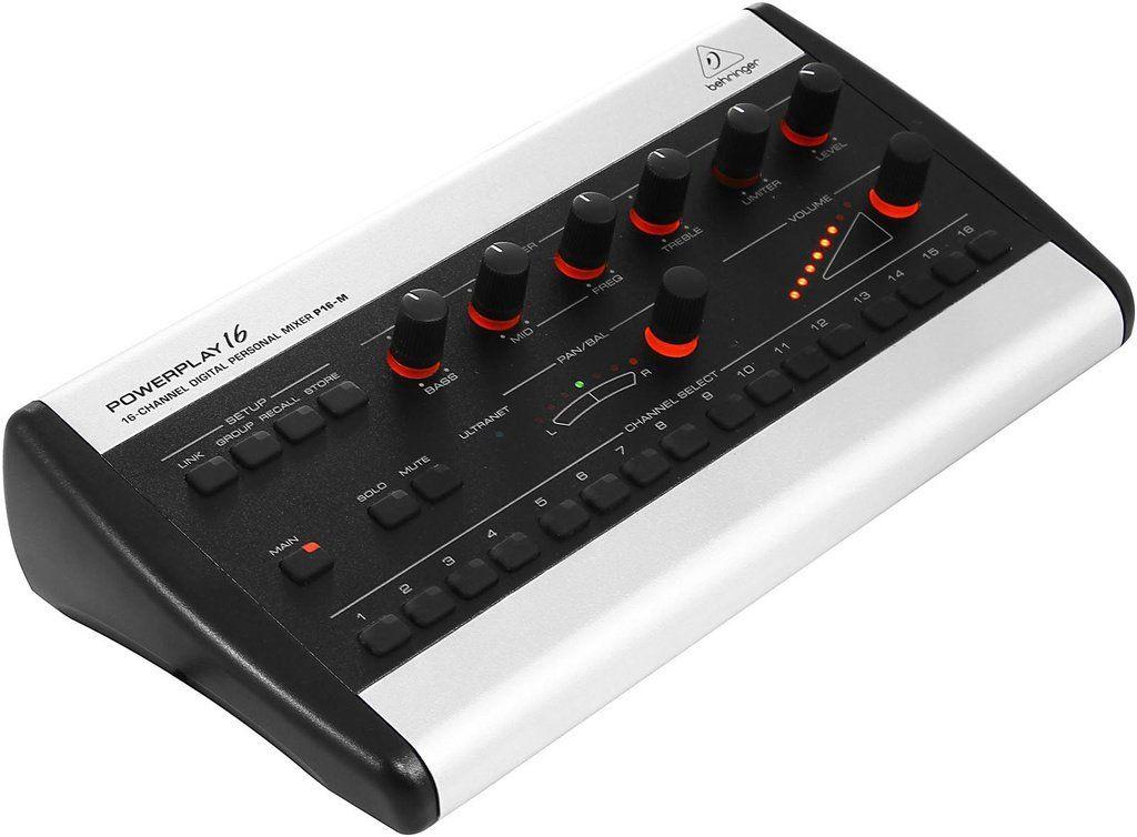 Mixer Individual Behringer Powerplay P16-M 16 Canais
