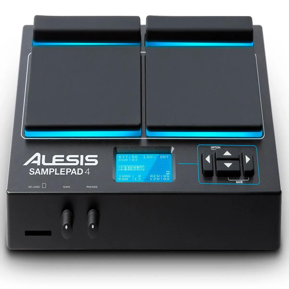 Módulo de Bateria Eletrônica Alesis Samplepad 4