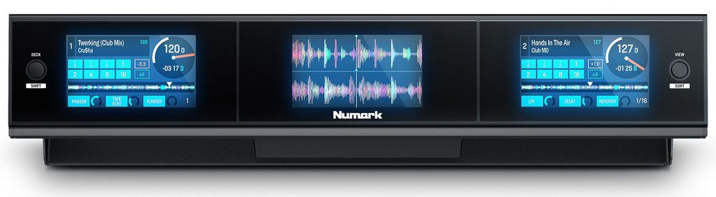 Painel de Controle Numark Dashboard 3 Screen Display Serato DJ Accessory