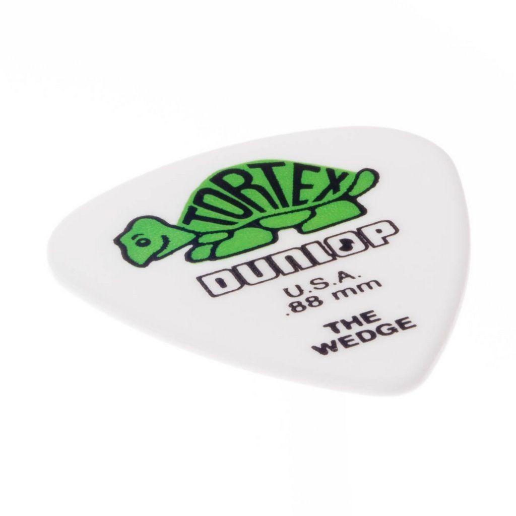 Palheta Dunlop 424P Tortex Wedge 80mm