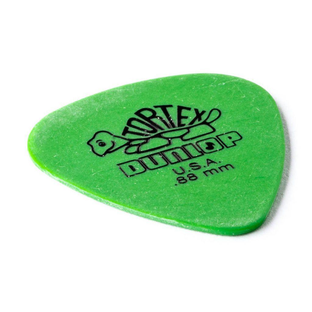 Palheta Dunlop Tortex 0,88mm Verde