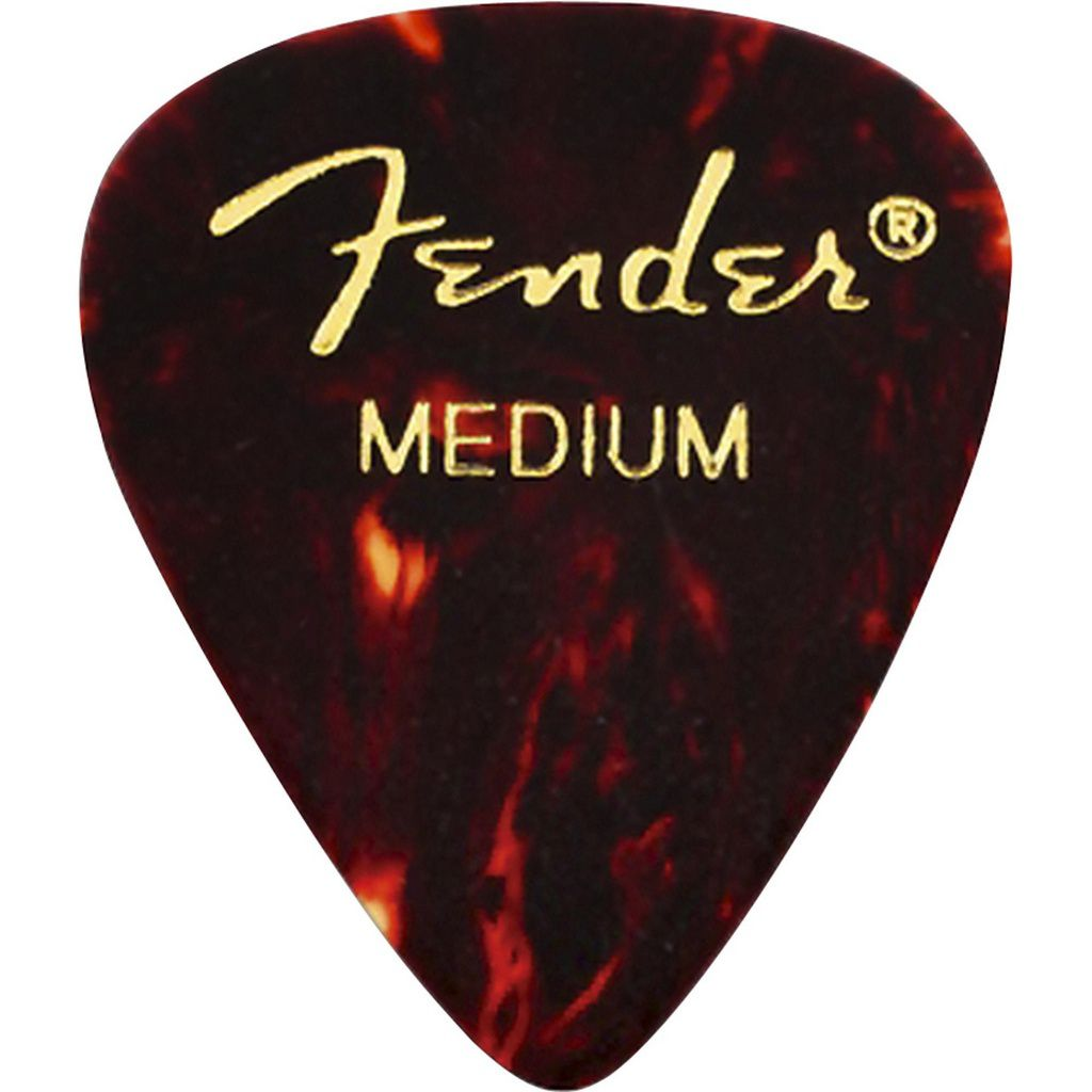 Palheta Fender Classic Celluloid Picks 351 Shell Medium