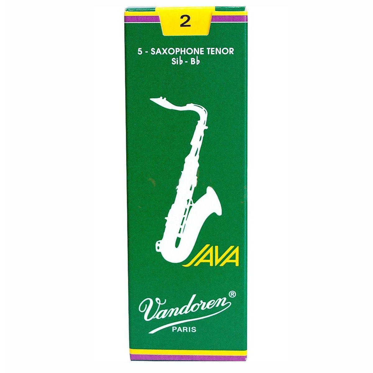 Palheta Vandoren Java Nº 2 para Sax Tenor
