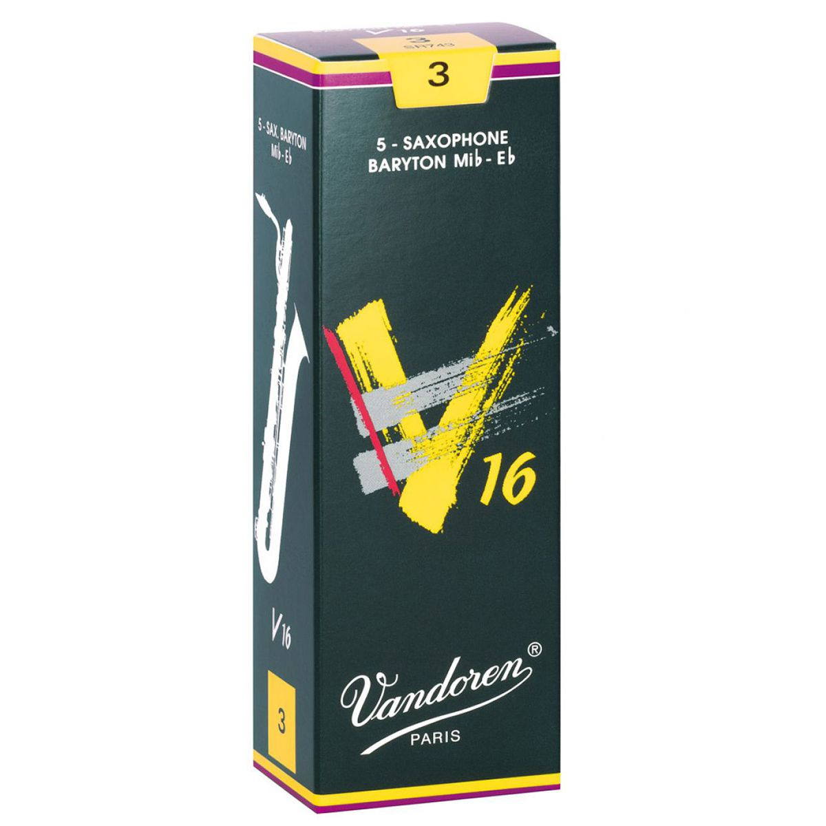 Palheta Vandoren V16 Nº 3 para Sax Barítono