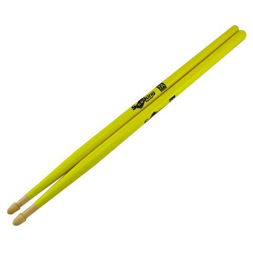 Par De Baquetas Spanking Balanced 7a Luminosa Amarela