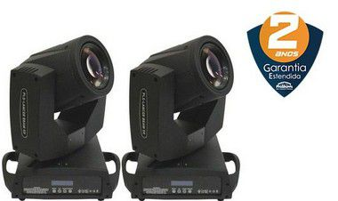 Par de Moving Heads PLS Lancer Beam 5R 189w