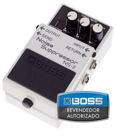 Pedal de Efeito Boss Noise Suppressor NS2