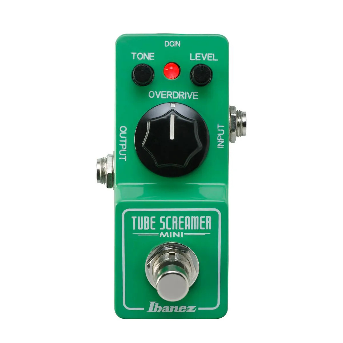 Pedal de Efeito Ibanez Tube Screamer TS Mini para Guitarra
