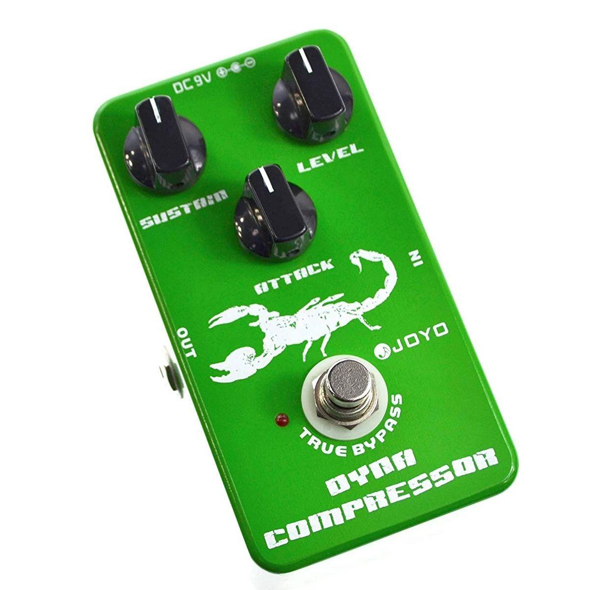 Pedal De Efeito JOYO JF-10 Dynamic Compressor para Guitarra