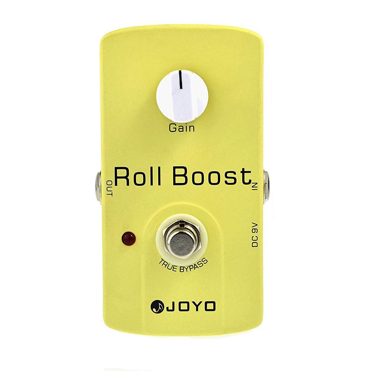 Pedal de Efeito Joyo JF-38 Roll Boost para Guitarra