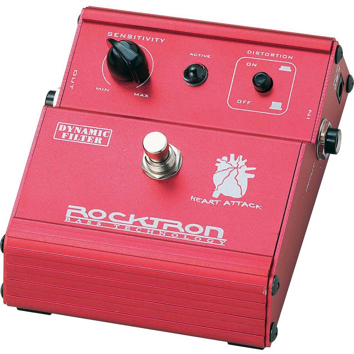 Pedal de Efeito Rocktron Heart Attack Dynamic Filter