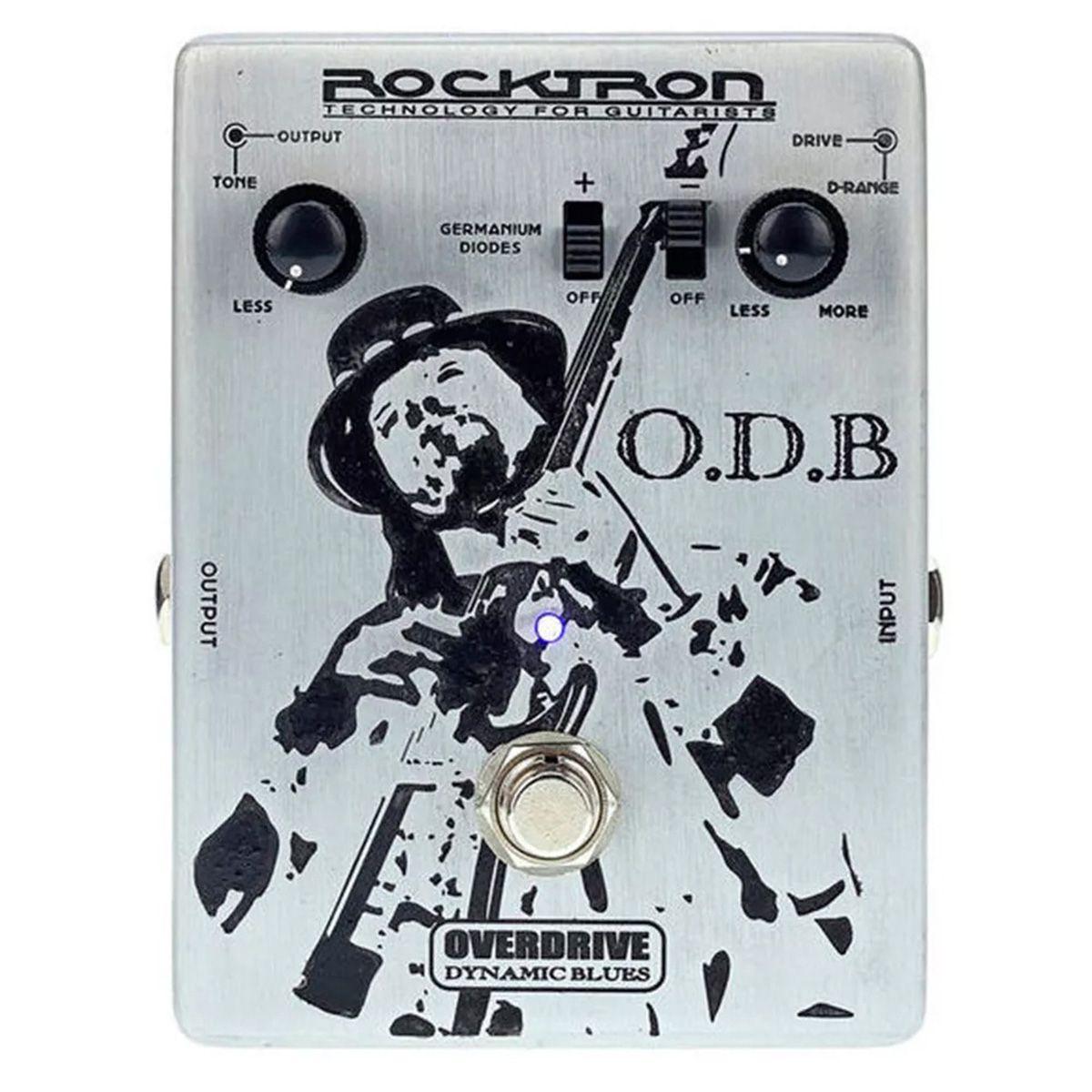 Pedal de Efeito Rocktron O.D.B Dynamic Blues Overdrive