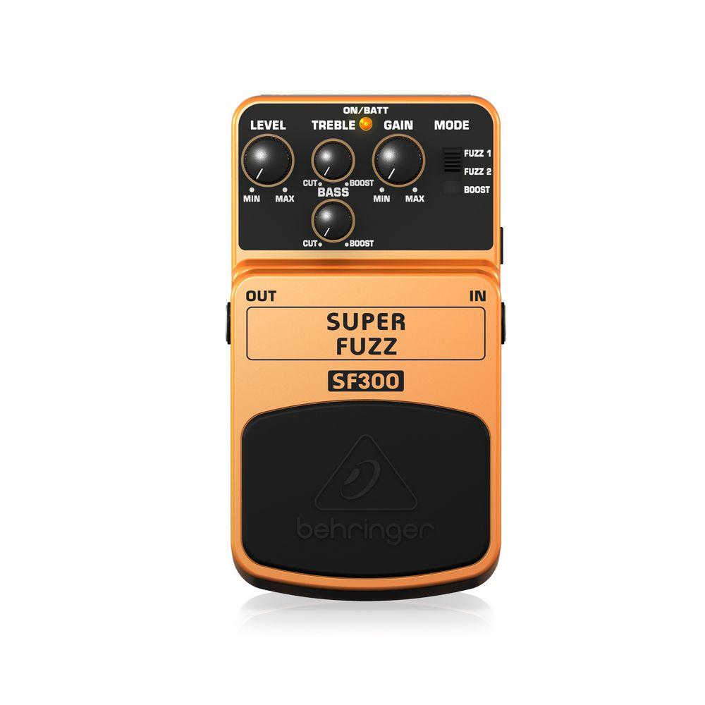 Pedal de Efeitos Behringer SF300 Super Fuzz para Guitarra