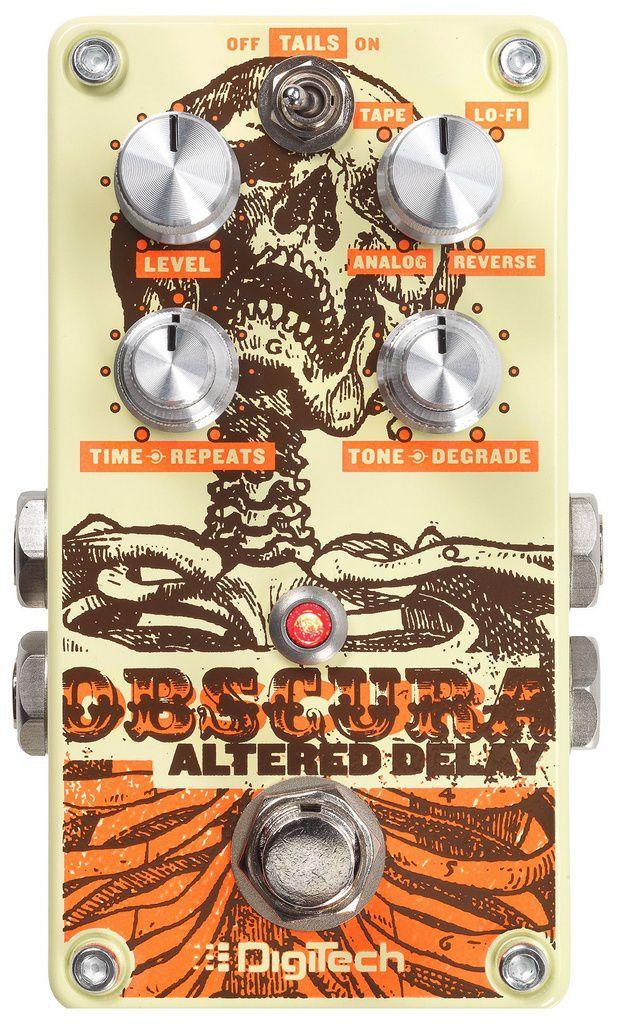 Pedal de Efeitos Digitech Obscura Altered Delay para Guitarra