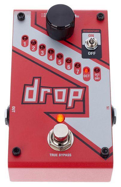 Pedal de Efeitos Digitech The Drop Tune Pitch Shifter para Guitarra