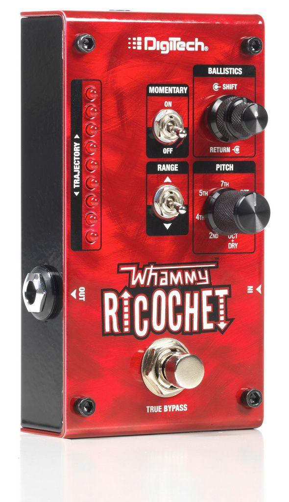 Pedal de Efeitos Digitech Whammy Ricochet Pitch Shift para Guitarra