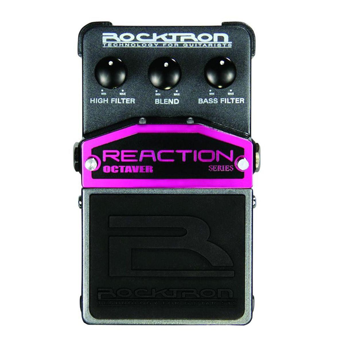 Pedal de Efeitos Rocktron Reaction Octaver