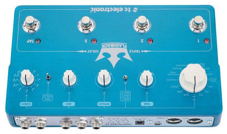 Pedal de Efeitos TC Electronic Flashback Triple Delay