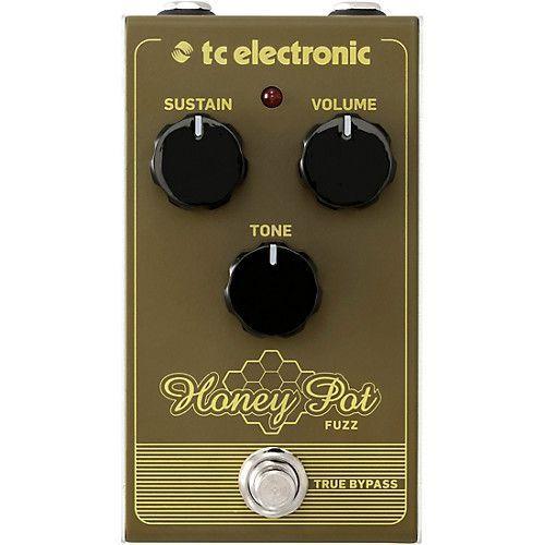 Pedal de Efeitos Tc Electronic Honey Pot Fuzz