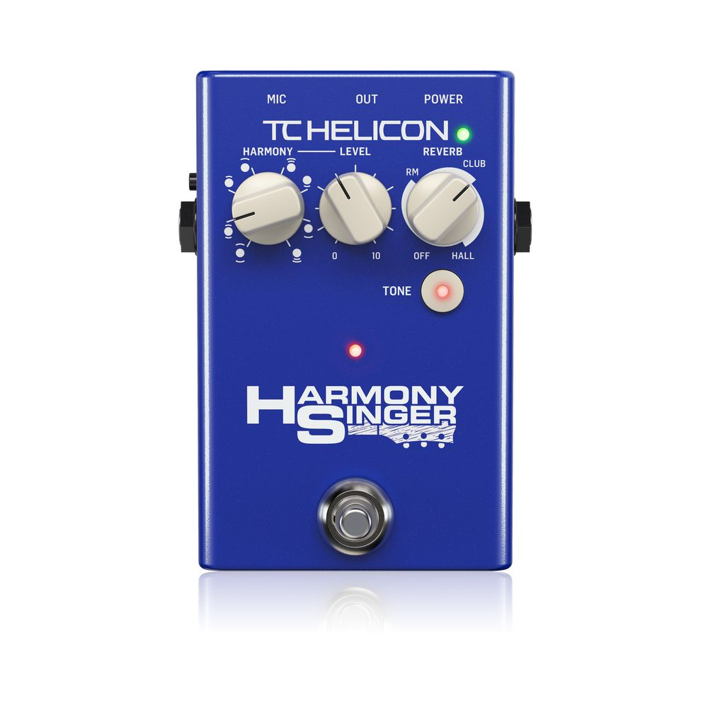 Pedal de Efeitos TC Helicon Harmony Singer 2 para Voz